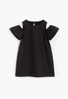 Платье, Mango Kids, цвет: черный. Артикул: MA018EGJUSV1.