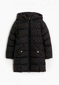Куртка утепленная, Mango Kids, цвет: черный. Артикул: MA018EGJUSV4.