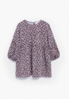 Платье, Mango Kids, цвет: розовый. Артикул: MA018EGKLHA5. Девочкам / Одежда / Платья и сарафаны