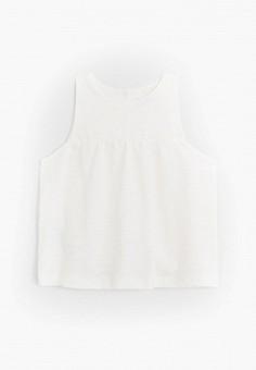 Блуза, Mango Kids, цвет: белый. Артикул: MA018EKJUUG2.