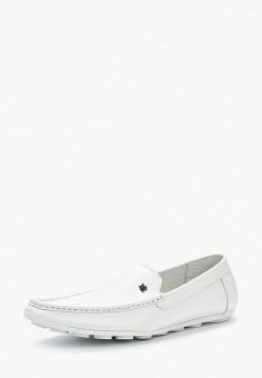 Мокасины, Matt Nawill, цвет: белый. Артикул: MA085AMAROA1. Обувь / Мокасины и топсайдеры
