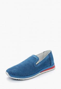 Лоферы, Matt Nawill, цвет: синий. Артикул: MA085AMAROA8. Обувь / Туфли