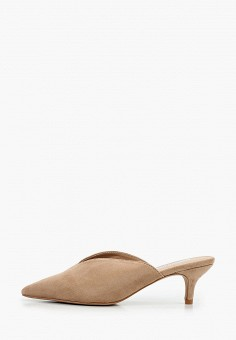 Мюли, Malien, цвет: бежевый. Артикул: MA098AWIPPB5. Обувь / Сабо и мюли