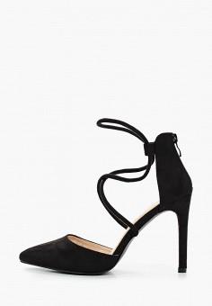 Туфли, Malien, цвет: черный. Артикул: MA098AWIPPC4. Обувь / Туфли