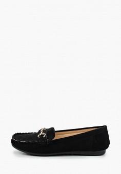 Мокасины, Malien, цвет: черный. Артикул: MA098AWJCMH2. Обувь / Мокасины и топсайдеры