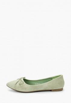Балетки, Malien, цвет: зеленый. Артикул: MA098AWJCMH5. Обувь / Балетки
