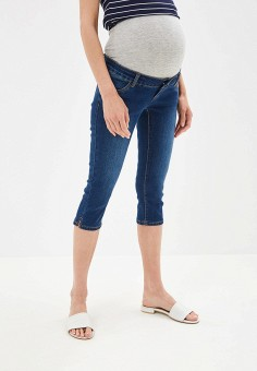 Бриджи, Mamalicious, цвет: синий. Артикул: MA101EWEVLF8. Одежда / Одежда для беременных