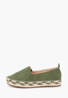 Эспадрильи, Martin Pescatore, цвет: зеленый. Артикул: MA108AWJDZB7. Обувь / Эспадрильи