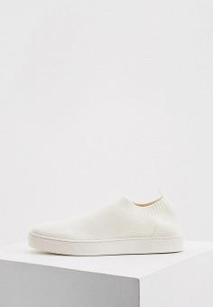 Слипоны, Max&Co, цвет: белый. Артикул: MA111AWJVPS7. Обувь / Слипоны