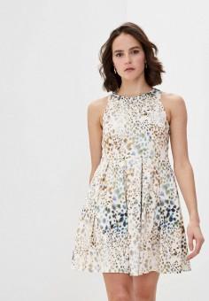 Платье, Max&Co, цвет: мультиколор. Артикул: MA111EWHKZU5. Одежда / Платья и сарафаны / Повседневные платья
