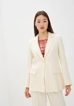 Пиджак, Max&Co, цвет: белый. Артикул: MA111EWHLAJ2. Одежда / Пиджаки и костюмы