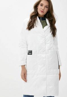 Куртка утепленная, Malinardi, цвет: белый. Артикул: MA118EWIQON8. Одежда / Верхняя одежда / Демисезонные куртки