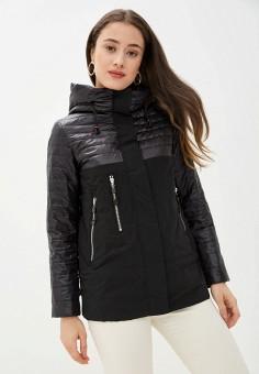 Куртка утепленная, Malinardi, цвет: черный. Артикул: MA118EWIQOP7. Одежда / Верхняя одежда / Демисезонные куртки