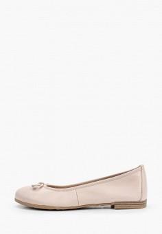 Балетки, Marco Tozzi, цвет: . Артикул: MA143AWHSYQ3. Обувь / Балетки