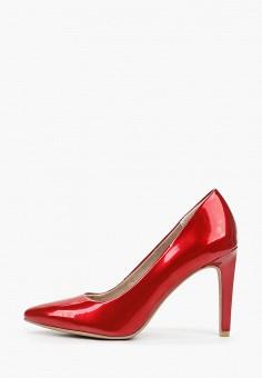 Туфли, Marco Tozzi, цвет: красный. Артикул: MA143AWHSYR8. Обувь / Туфли / Лодочки