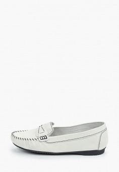Мокасины, Marco Tozzi, цвет: белый. Артикул: MA143AWHSYW0. Обувь / Обувь с увеличенной полнотой
