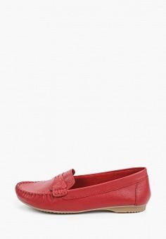 Мокасины, Marco Tozzi, цвет: красный. Артикул: MA143AWHSYW1. Обувь / Обувь с увеличенной полнотой