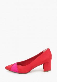 Туфли, Marco Tozzi, цвет: красный. Артикул: MA143AWHTDU1. Обувь / Туфли