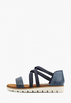 Сандалии, Marco Tozzi, цвет: синий. Артикул: MA143AWHTEN6. Обувь