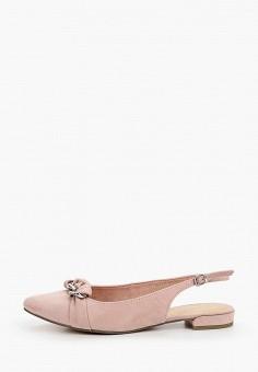 Туфли, Marco Tozzi, цвет: розовый. Артикул: MA143AWHTEP0. Обувь / Туфли