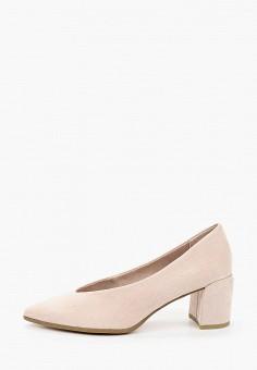 Туфли, Marco Tozzi, цвет: розовый. Артикул: MA143AWHTES4. Обувь / Туфли