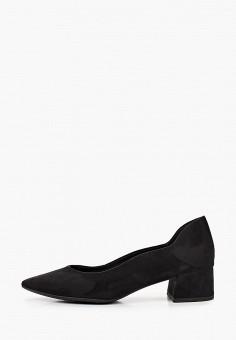 Туфли, Marco Tozzi, цвет: черный. Артикул: MA143AWKCGW1. Обувь / Туфли