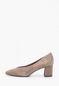 Туфли, Marco Tozzi, цвет: серый. Артикул: MA143AWKCGW8. Обувь / Туфли