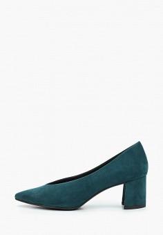 Туфли, Marco Tozzi, цвет: зеленый. Артикул: MA143AWKCGX9. Обувь / Туфли