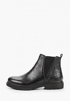 Ботинки, Marco Tozzi, цвет: черный. Артикул: MA143AWKCHH0. Обувь / Ботинки / Челси