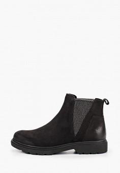 Ботинки, Marco Tozzi, цвет: черный. Артикул: MA143AWKCHH1. Обувь / Ботинки / Челси