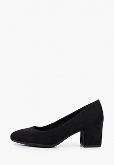 Туфли, Marco Tozzi, цвет: черный. Артикул: MA143AWKCHI1. Обувь / Туфли