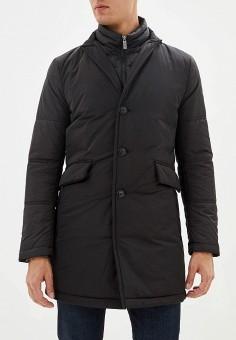 Куртка утепленная, Madzerini, цвет: черный. Артикул: MA156EMFSMR9. Одежда / Верхняя одежда / Демисезонные куртки