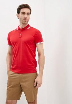 Поло, Malagrida, цвет: красный. Артикул: MA173EMIPJU4. Одежда / Футболки и поло / Поло