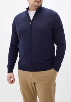 Кардиган, Maxfort, цвет: синий. Артикул: MA201EMGOIM0. Одежда / Джемперы, свитеры и кардиганы / Кардиганы