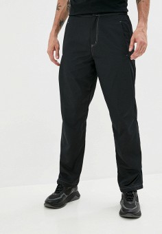 Брюки, Marcelo Burlon County of Milan, цвет: черный. Артикул: MA203EMJMWO0. Одежда / Брюки / Повседневные брюки
