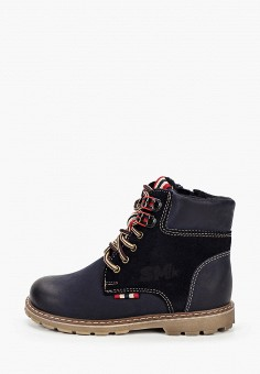 Ботинки, Marko, цвет: синий. Артикул: MA206ABKDFD0. Мальчикам / Обувь / Ботинки