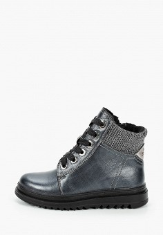 Ботинки, Marko, цвет: серый. Артикул: MA206ABLHO48. Мальчикам / Обувь / Ботинки