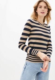 Джемпер, Manode, цвет: бежевый. Артикул: MA220EWHJRS0. Одежда / Джемперы, свитеры и кардиганы / Джемперы и пуловеры
