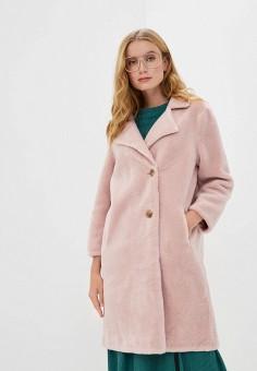 Шуба, Mallanee, цвет: розовый. Артикул: MA382EWKBVI8. Одежда / Верхняя одежда / Шубы и дубленки