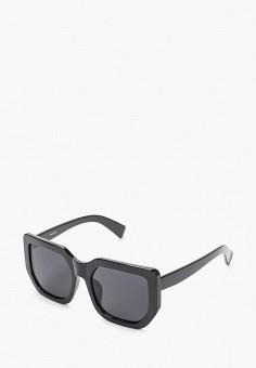 Очки солнцезащитные, Mascotte, цвет: черный. Артикул: MA702DWIKIE6. Аксессуары / Очки