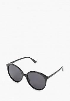 Очки солнцезащитные, Mascotte, цвет: черный. Артикул: MA702DWIKIE8. Аксессуары / Очки