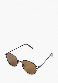 Очки солнцезащитные, Mascotte, цвет: коричневый. Артикул: MA702DWIKIE9. Аксессуары / Очки