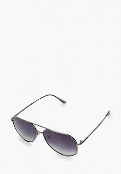 Очки солнцезащитные, Mascotte, цвет: серебряный. Артикул: MA702DWIKIG3. Аксессуары / Очки
