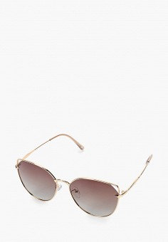 Очки солнцезащитные, Mascotte, цвет: золотой. Артикул: MA702DWIKIG5. Аксессуары / Очки
