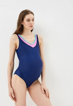 Купальник, MadWave, цвет: синий. Артикул: MA991EWBQZT1. Одежда / Одежда для беременных