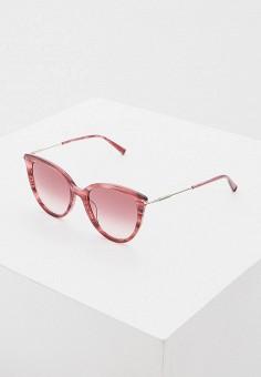 Очки солнцезащитные, Max Mara, цвет: розовый. Артикул: MA994DWHBJX6.