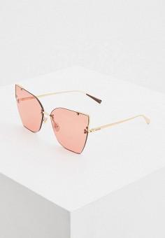 Очки солнцезащитные, Max Mara, цвет: розовый. Артикул: MA994DWIVEL0.