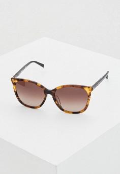 Очки солнцезащитные, Max Mara, цвет: коричневый. Артикул: MA994DWIVEM0.