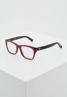 Оправа, Max Mara, цвет: красный, черный. Артикул: MA994DWUAE67.