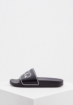 Сланцы, McQ Alexander McQueen, цвет: черный. Артикул: MC010AUJYRW7. Обувь / Резиновая обувь